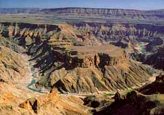 Fish River Canyon. Pic: David Anderson.