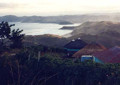 Rural village, Pondoland, Wild Coast. Pic: Russell Weston.